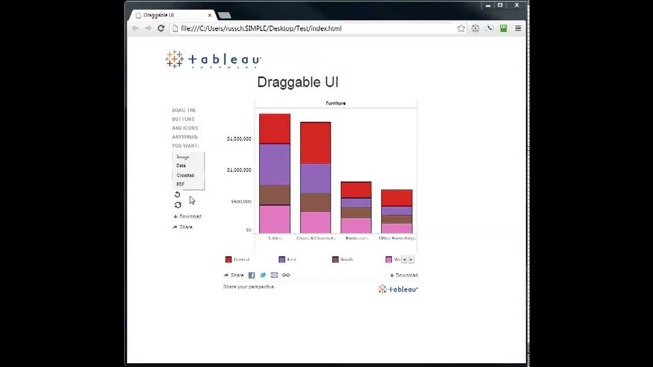Fun With Jquery And The Tableau Javascript Ui Youtube