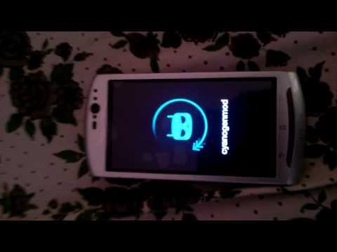 CyanogenMod 11(Android 4.4 KitKat) running on Sony Ericsson Xperia Neo V