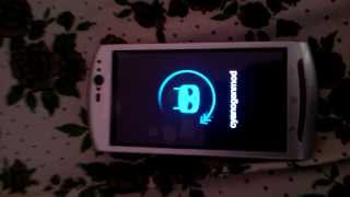 CyanogenMod 11(Android 4.4 KitKat) running on Sony Ericsson Xperia Neo V