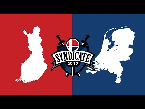 Syndicate 2017 | Finland vs The Netherlands | Crews Quarters