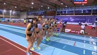 1000м Женщины Финал А - Русская Зима 2013 MIR-LA.com