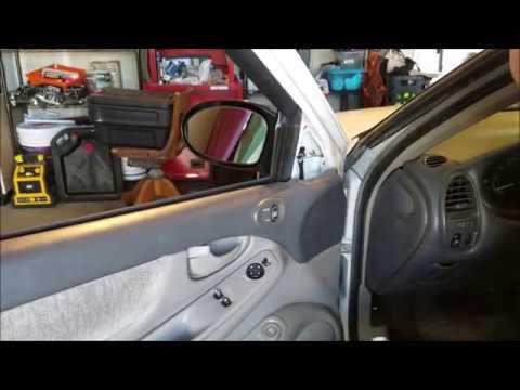 2004 Oldsmobile Alero Driver Mirror Replacement