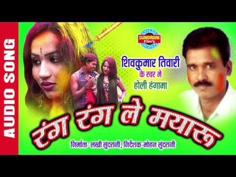 RANG RANGALE MAYARU - रंग रंगाले मयारू - Shivkumar Tiwari - Faag Geet - Folk Sahu - Audio Song