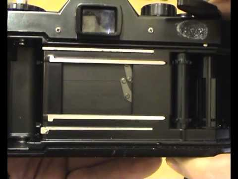 How To Check Test Load An Slr 35mm Film Camera Part 1