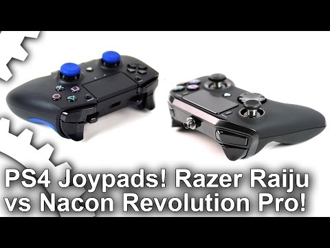 PS4 Premium Joypads: Razer Raiju vs Nacon Revolution Pro!