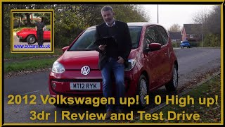 Review and Virtual Video Test Drive In Our 2012 Volkswagen up! 1 0 High up! 3dr MT12RYK