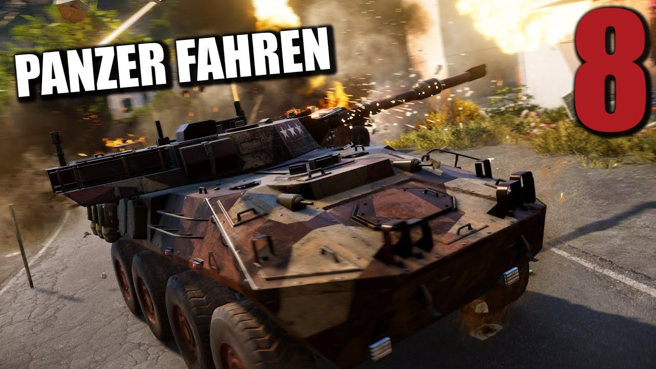 just cause 3 gameplay german 8 panzer fahren let 39 s play. Black Bedroom Furniture Sets. Home Design Ideas