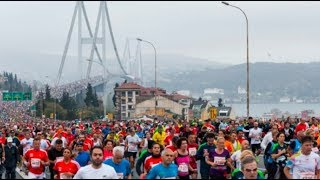 Vodafone 40  İstanbul Maratonu Özel ve Renkli Görüntüler