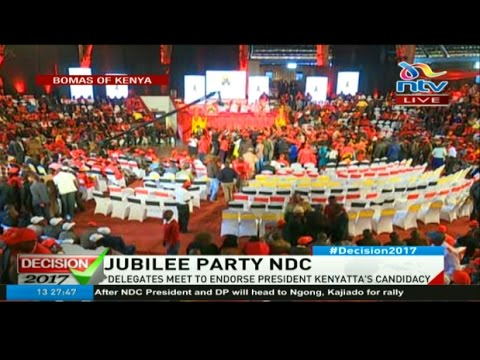 LIVE: Jubilee national delegates conference at the Bomas of Kenya