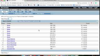 Created for MLIS 7510 Searching WorldCat Indexes PDF: http://www.oc...