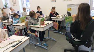 Урок літературного читання в 3-Б класі Astor School