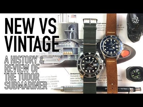 A Tale Of Two Submariners - New Vs Vintage Comparative Review Of My Tudor & Iconic Rolex 116610 LN