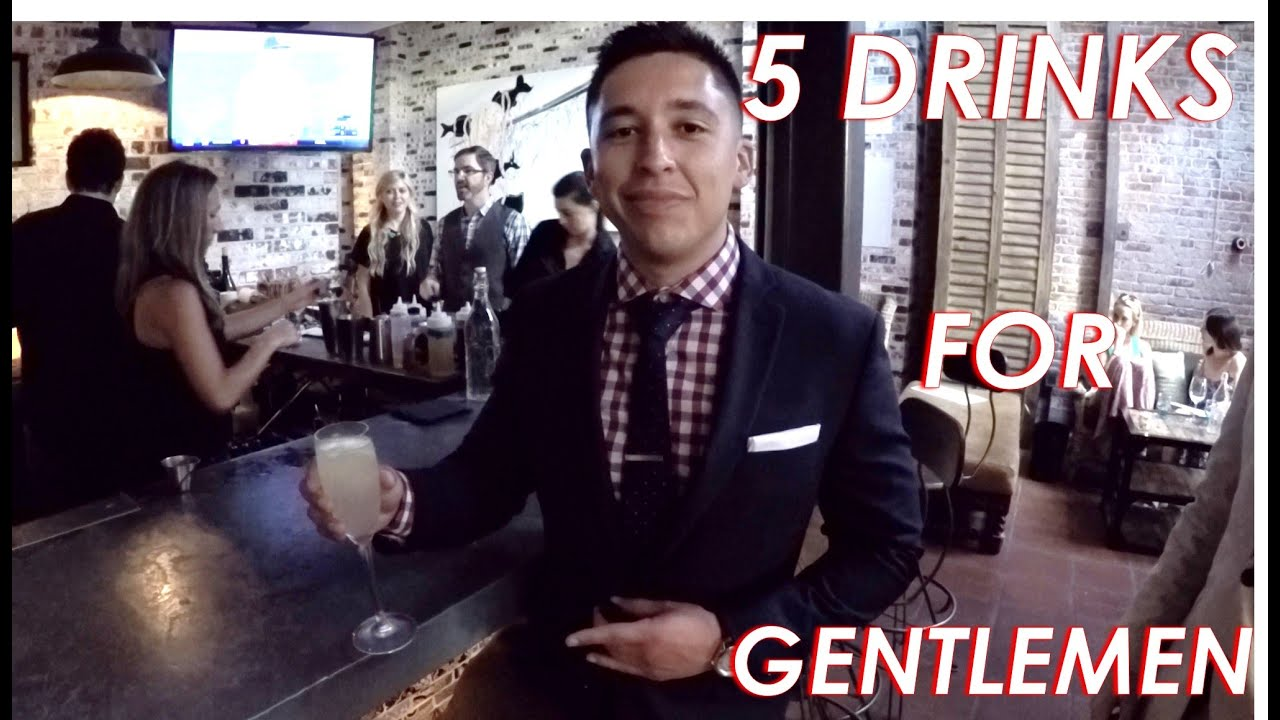 Download 5 Drinks Every Gentleman Should Know