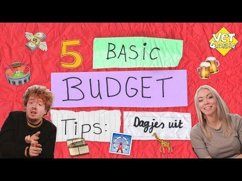 5 BASIC BUDGET TIPS: DAGJES UIT | VET GEZELLIG EXTRA