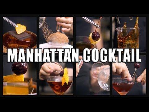 Manhattan Cocktail Top 10 Variations