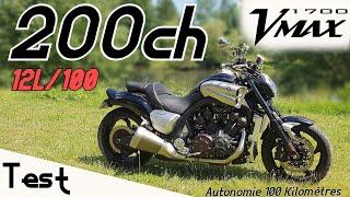 """""""Test"""" Un DRAGSTER homologué 100% Inutile donc INDISPENSABLE 🤪 """"Yamaha Vmax 1700 de 2009"""""""