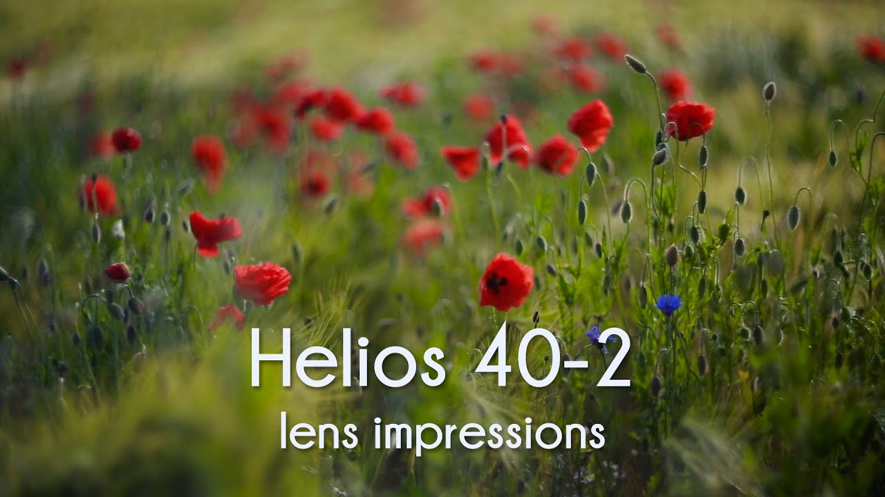 Helios 40 2 85mm F 1 5 Lens Impression Youtube