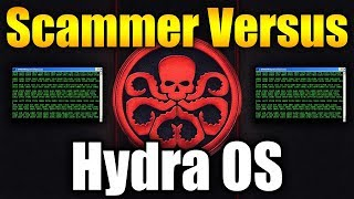 Tech Support Scammer Versus Hydra OS | BEST Reactions! | Tech Support Scammers EXPOSED!