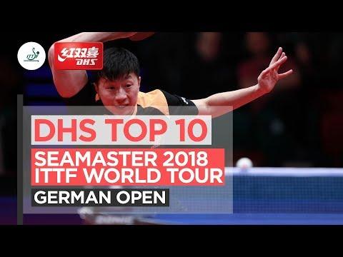 DHS ITTF Top 10 - 2018 German Open