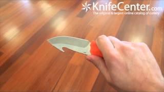 Benchmade Hunt 15009-ORG Steep Mountain Hunter Fixed Blade