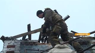 Как бойцы АТО помогают жителям Донбасса