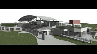 Point Cloud and Revit Model - Margaret Whitlam Recreation Centre
