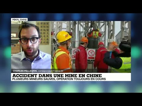 Chine : neuf mineurs secourus après deux semaines coincés sous terre