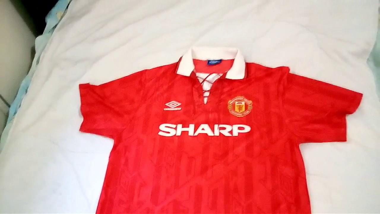 5addcdb8aaf Manchester United Football Shirt Ebay - DREAMWORKS