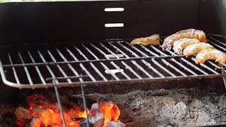 Копченые креветки в чесночно-соевом маринаде