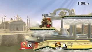 Aang vs Fire Lord Ozai (Bowser) Wii u 1080p HD