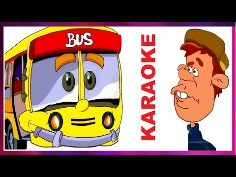 The wheels on the bus Karaoke