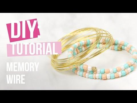Sieraden maken: Beadalon memory wire ♡ DIY