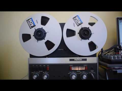 A Recording Of Radio Moscow's Moscow Mailbag (On Short Wave) From 1976 Played Back On My Revox A77