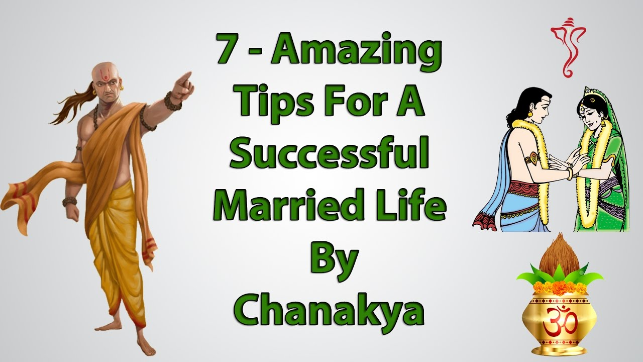 7 Amazing Tips For Successful Married Life By Chanakya ...