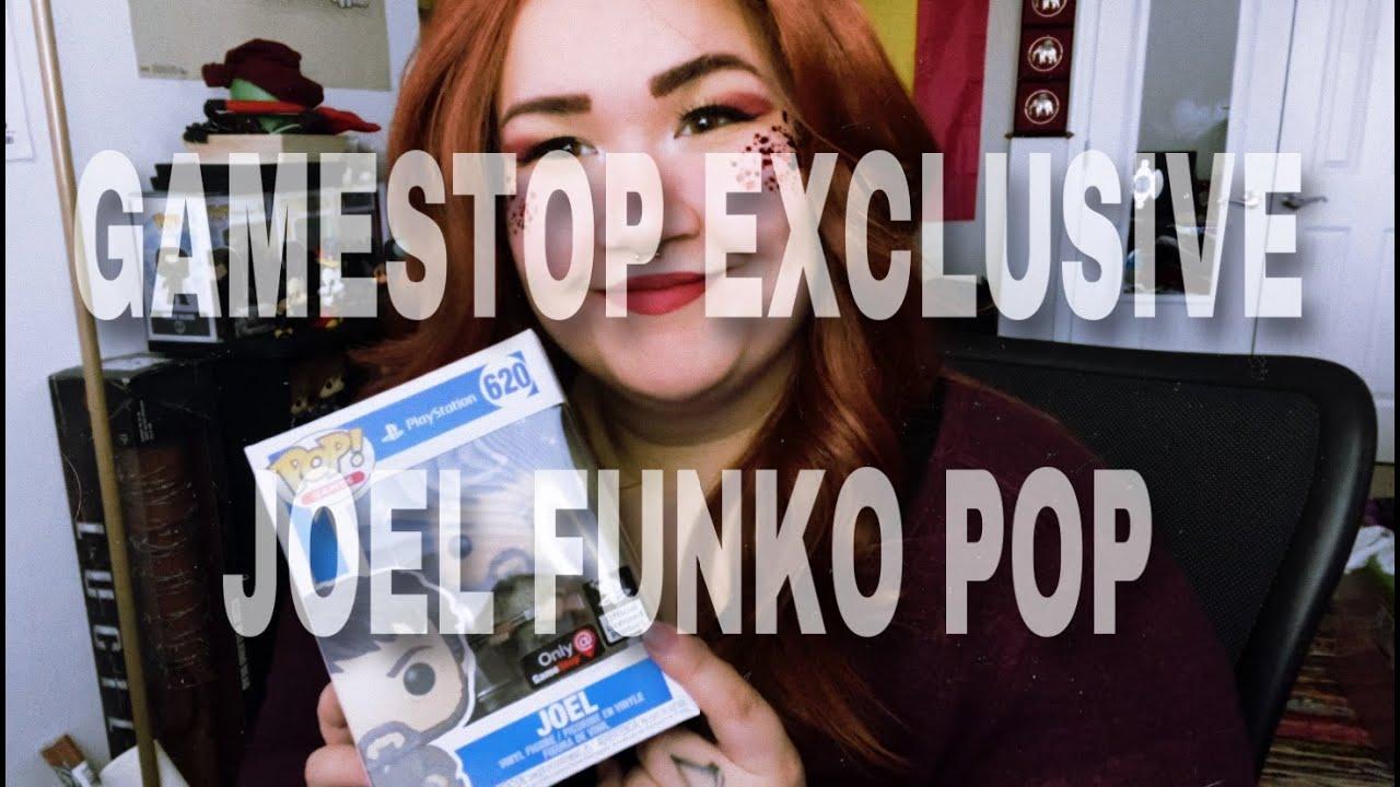 PlayStation 620 The Last of Us Joel GameStop Exclusive FUNKO POP