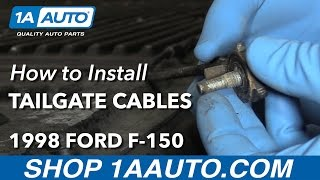 How to Install Replace Tailgate Cables 1997-00 Ford F-150