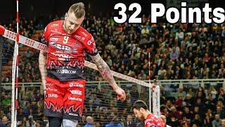 32 Points In One Match !? KING Ivan Zaytsev (HD)