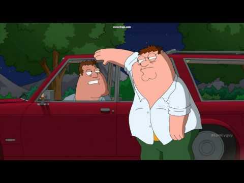 Family guy - Peter and Joe exchanging car keys (Season 12)