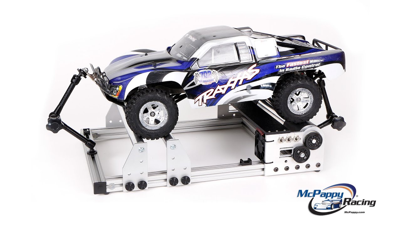 McPappy Racing RC Brushless Chassis Dyno