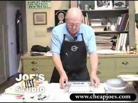 "Blooper Reel : ""Cheap"" Joe Miller Test Studio"