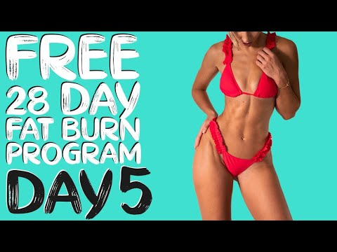 DAY 5 | FREE 28 DAY WORKOUT CHALLENGE | Pilates Full Body Sculpt | Timer & Modifications Included