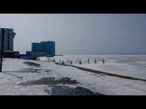 Тропа Здоровье Спортивная Набережная Владивостока Район Эгершельд