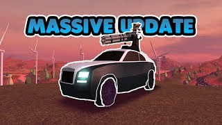 ROLLS ROYCE, BIG WINGS ET PLUS ENCORE! (ROBLOX JAILBREAK MASSIVE MISE À JOUR!)