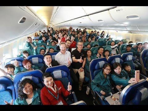 Cathay Pacific Community Flight 2017
