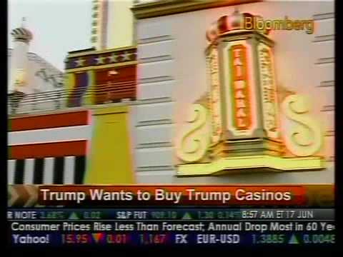 Trump Wants To Buy Trump Casinos - Bloomberg
