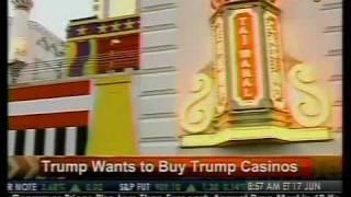 Trump Wants To Buy Trump Casinos - Bloomberg
