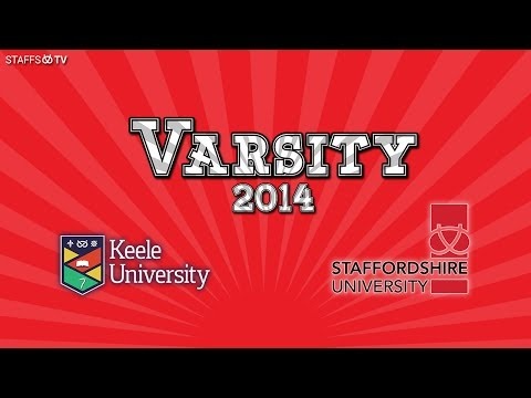 Varsity 2014 | Keele V Staffs | Staffs TV Live Stream