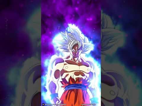 Goku ultra instinto 100%  fondo se pantalla