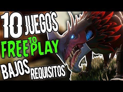 LOS MEJORES JUEGOS FREE TO PLAY DE BAJOS REQUISITOS PARA PC | TOP