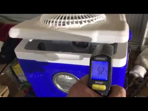 How to make an off grid air conditioning unit for $20.00 and only uses 1.0 amp
